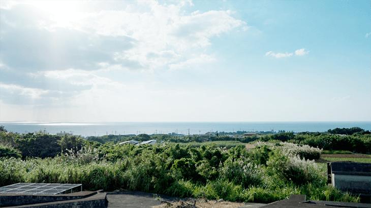 高志の丘の景色