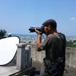 ☺現場撮影風景☀