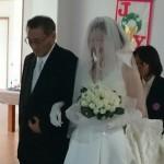 久し振りの結婚式に参加しました。
