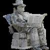 今日は「新聞をヨム日」です。