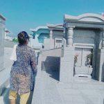 新規お客様の墓地視察風景②