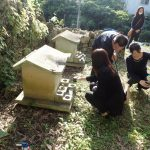 島袋家様のお墓の引越し(閉願供養)の風景