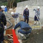 土間・コンクリート工事開始(みくに・嘉数の丘)