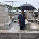 岳原家様のお墓お引き渡しの報告