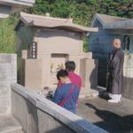 玉城家様・お墓の改葬の風景