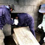 古波蔵家様・お墓の改葬(引っ越し)の風景②