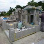 照屋家様のお墓・無事に完成しました。