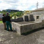 お墓の改葬の調査業務の風景