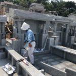 伊礼家様の工事進捗状況の報告