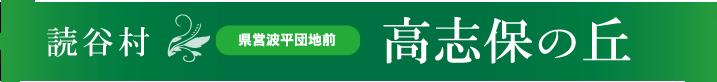 読谷村県営波平団地前高志保の丘