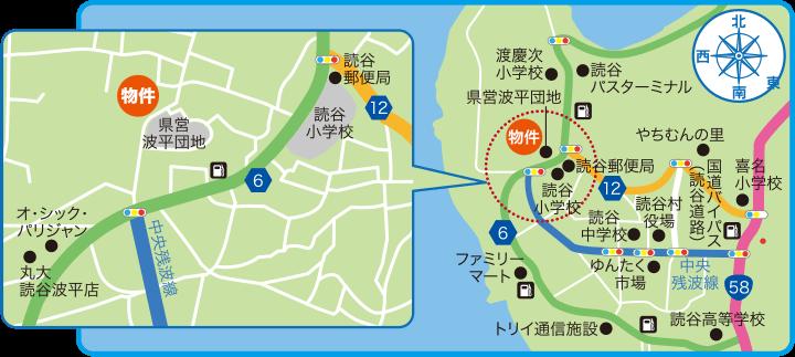 高志保の丘地図