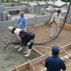 ☺田場の園🙇基礎工事💮