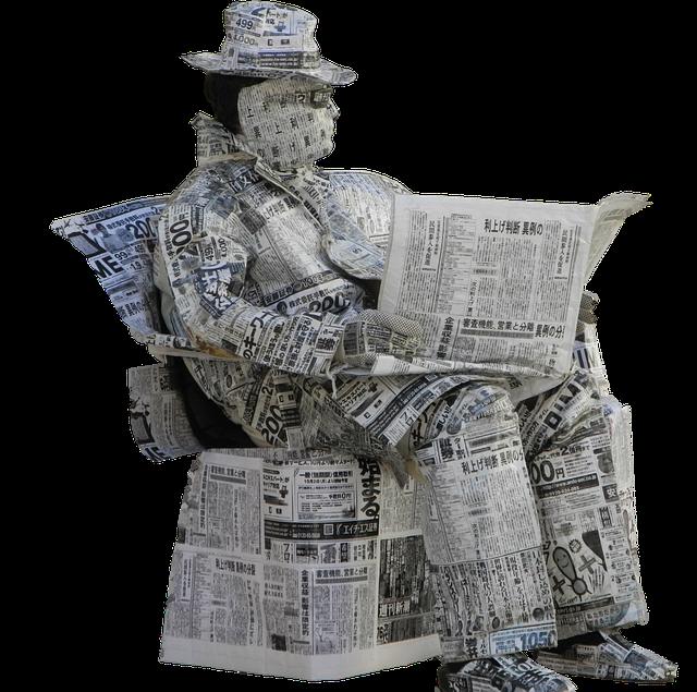 今日は、新聞をヨム日です。