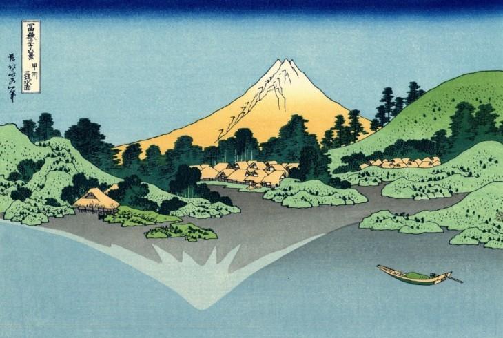 富士山北斎