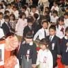 小学校入学式の日