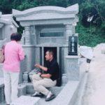 眞下家様の無事にお墓が完成しました。