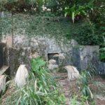 お客様からのお墓の補修の現場調査風景