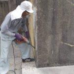 金城家様のお墓の改修工事がスタート