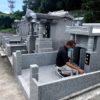 知念家様のお墓無事に完成しました。