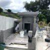 吉濱様のお墓の建立風景②