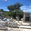仲地様のお墓の建立風景①