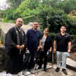 ※新垣家のお墓の永代供養の風景のひとコマ