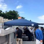 新垣家様のお墓の納骨式の風景・前篇
