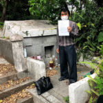 徳村家様のお墓の建立相談の風景
