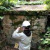 埋蔵文化財の調査風景①
