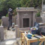仲田家様のお墓の完成もうすぐです!。