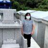 神谷様のお墓の引き渡し風景