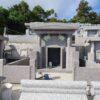 瀬名波家様のお墓がもうすぐ完成します。